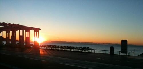 lever du soleil nice